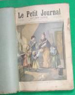 LE PETIT JOURNAL 1894 RELIE RARE - Magazines - Before 1900