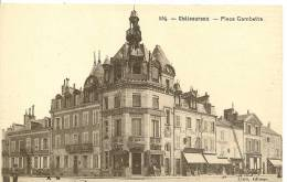 554 - CHATEAUROUX - PLACE GAMBETTA ( Animées ) - Chateauroux