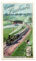 Chromo SUCHARD, N° 121 / 3, Train Imperial De St. Petersbourg - Moskau - Suchard