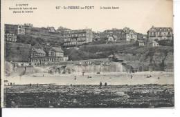 SAINT PIERRE EN PORT à Marée Basse - France