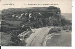 SAINT PIERRE EN PORT - La Falaise D'aval Et Les Villas - Non Classés