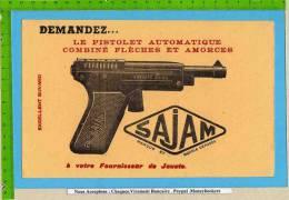 BUVARD : Le Pistolet Automatique Combiné Fleches  SAJAM Votre Fournisseur De Jouets - Kids