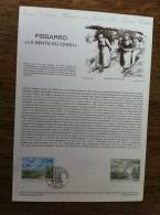 Collection Historique Du Timbre-Poste Français PISSARRO La Sente Du Chou - Feuilles Complètes