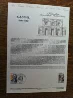 Collection Historique Du Timbre-Poste Français GABRIEL 1698 1782 - Feuilles Complètes