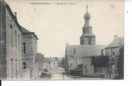 BELGIQUE - VIRELLES LES CHIMAY - L'Eglise Et La Place - Unclassified