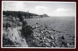 Cpa Allemagne Insel Oie Steilekuste U Leuchtturm  DIV5 - Allemagne