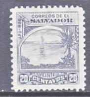 El Salvador  166  Original  *  Wmk. - El Salvador