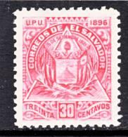 El Salvador  168  Original  *  Wmk. - El Salvador
