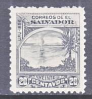 El Salvador  170 H  Original  *  No Wmk. - El Salvador