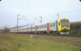 RAIL * RAILWAY * RAILROAD * TRAIN * HUNGARIAN STATE RAILWAYS * CALENDAR * MAV 1990 1 * Hungary - Calendriers