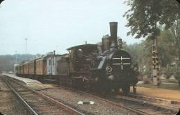 RAIL * RAILWAY * RAILROAD * TRAIN * STEAM LOCOMOTIVE * HUNGARIAN STATE RAILWAYS * CALENDAR * MAV 1991 1 * Hungary - Calendriers