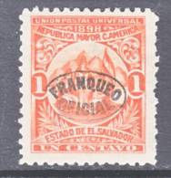 El Salvador   O 129  Original  *  Wmk. - El Salvador