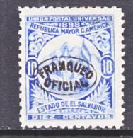 El Salvador   O 133  Original   *  Wmk. - El Salvador