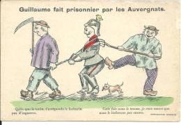 Guillaume Fait Prisonnier Par Les Auvergnats - Humour