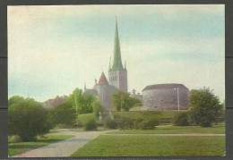 ESTLAND Estonia Estonie 1971 Pre-stamped Postcard Ansichtskarte Niguliste Kirche Reval Tallinn Unused Unbenutzt - Estland