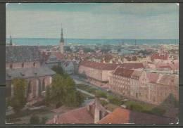 ESTLAND Estonia  1971 Pre-stamped Postcard Ansichtskarte Altstadt Old Tow  Reval Tallinn Unused Unbenutzt - Estland