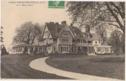 CPA 91 ANGERVILLIERS Belle Propriété Le Manor House 1912 - Francia