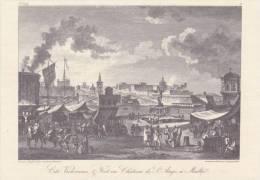 Cp , MALTE , Cité Victorieuse & Fort Ou Château De St-Ange , 18e Siècle. - Malte