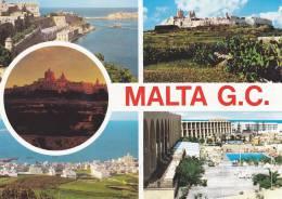 Cp , MALTE , Mdina , Grand Harbour , St. Paul's Bay , Multi-Vues - Malte