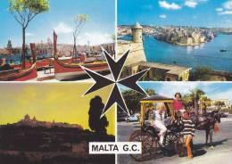 Cp , MALTE , Multi-Vues - Malte