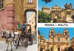Cp , MALTE , MDINA , Multi-Vues - Malte