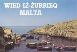 Cp , MALTE , WIED IZ ZURRIECQ , Passenger Boats - Malte