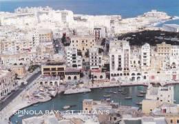 Cp , MALTE , ST- JULIAN'S , Spinola Bay - Malte