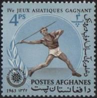 AFGHANISTAN 1963 - 4th NEW TROOPS SPORTS GAMES IN DJAKARTA - ATHLETICS - JAVELIN - Pesistica