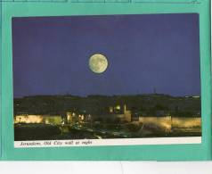 JERUSALEM OLD CITY WALL AT NIGHT - Israel
