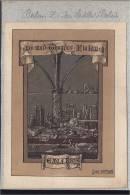 SATTLER  EX-LIBRIS BOOKPLATE  DR MED THEODOR FLATAU BERLIN  LIVRE LECTURE BOOK BUCH - Ex-libris