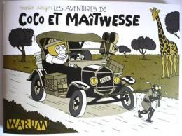 PASTICHE TINTIN : COCO ET MAITWESSE / 48 P N&B Sous Couv à Rabats /détournement De Tintin Au Congo /TBE ! - Tintin