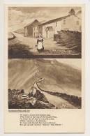 Kirkstone Pass And Inn - Artist Drawn, 2 Views, Humour - Cumberland/ Westmorland