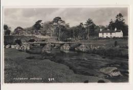 Postbridge, Dartmoor - RPPC - England