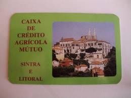 Bank/Banque/Banco Caixa De Crédito Agricola Mutuo De Sintra Portuguese Pocket Calendar 1992 - Calendari