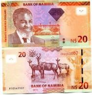 NAMIBIA 20 DOLLARS P-NEW 2013 UNC - Namibia