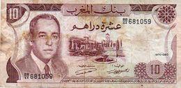 Morocco:P-66a,200 Dirhams,1987 * King Hassan II * AUNC * - Maroc