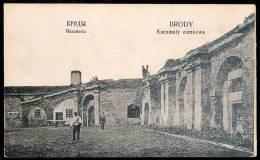 Ukraine / Brody (Броди) : Casemates A Brody Castle (K.u.K. Etappentrainzug Nr. 15/44) Cca. - Ukraine