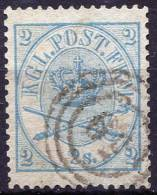 DENMARK 1865 Perf.13.5x12.5 More Thin Paper - Yv.11 (Mi.11) Used (perfect) VF - Oblitérés