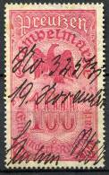 GERMANY - Preussen Stempelmarke - Autres