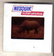 Q489 - DIAPO NESQUIK - RHINOCEROS - Nestlé