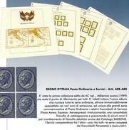 AC ALBUM - Splendido Album Per La Collezione Dei Francobolli Dei Servizi Del Regno D'Italia - 1861-78 Vittorio Emanuele II