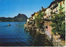 LUGANO, 7 AK's  Used - Panorama, Monte San Salvatore, Via Cattedrale, Quai,  .....partly Nice Stamp - Cartes Postales