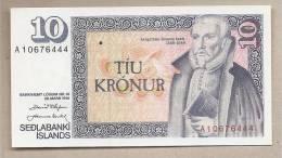Islanda - Banconota Non Circolata Da 10 Corone - 1961 - Islanda