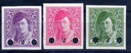 YUGOSLAVIA 1919 Surcharges, LHM / * - Ungebraucht