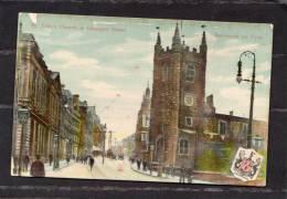 30700    Regno  Unito,  Newcastle  On  Tyne,  St.  John£s  Church  &  Grainger  Street,  VG  1920 - Newcastle-upon-Tyne