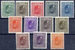 YUGOSLAVIA 1926-27 Portrait Definitive Set LHM / * - Unused Stamps