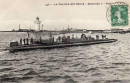 SOUS MARIN LE PAPIN LA ROCHELLE - Sous-marins
