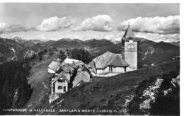 TARVISIO (Udine). Santuario Monte LUSSARI. Alpi Giulie. Non Vg. Anni '50. - Udine