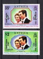 Antigua 1973 Mi.Nr. 312/13 Kpl. Satz * Ungebraucht - Antigua Und Barbuda (1981-...)