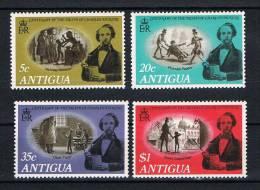 Antigua 1970 Dickens Mi.Nr. 226/29 Kpl. Satz * Ungebraucht - Antigua Und Barbuda (1981-...)